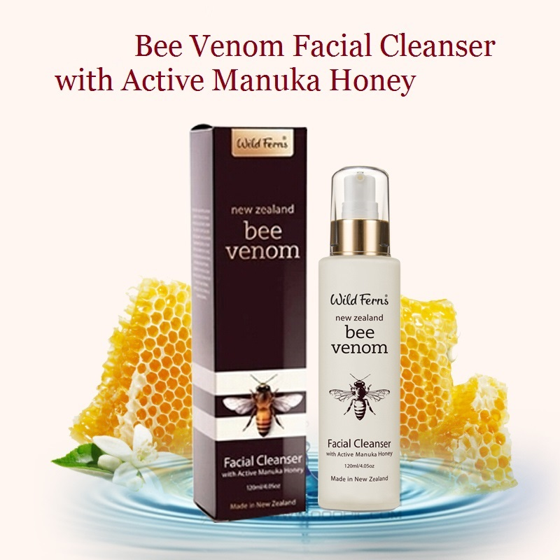 Nettoyant Original pour le visage au venin d'abeille Parrs de nouvelle-zélande nettoyant actif pour les pores du visage au miel de Manuka nettoyant naturel pour la peau hydratant