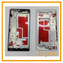 New Middle Frame Bezel For Huawei Ascend P7 Housing Middleplate With Side Buttons Black White Color
