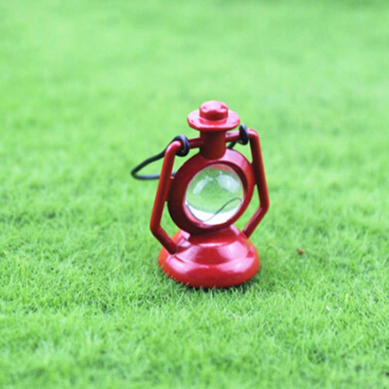 1/2 шт. ретро керосиновая лампа кукольный домик Миниатюрная игрушка кукла Еда Кухня гостиная 1:12 масштабные аксессуары для кукольного домика газонная лампа освещения