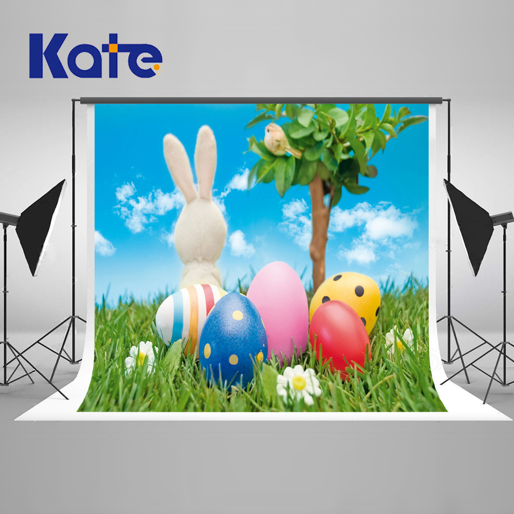 KATE Spring Photography Background Easter Baby Photography Backdrops Rabbit Children Cotton Backgrounds For Photo Studio сумка kate spade new york wkru2816 kate spade hanna