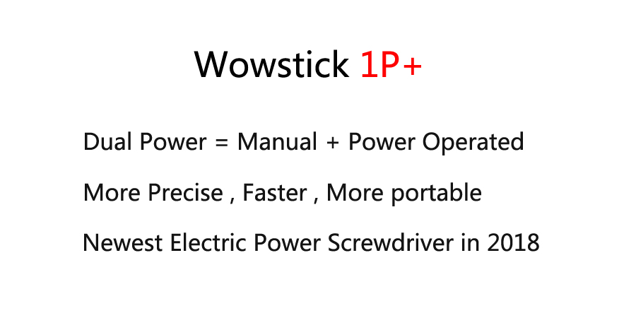 Wowstick TRY 1P+ Electric Screw Driver Cordless Power Screwdriver