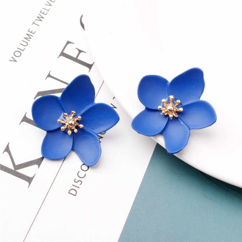 Ufavoirte Style coréen mignon fleur boucles d'oreilles pour les femmes 2019 nouveau cadeau mode doux boucles d'oreilles Femme Brinco gros bijoux