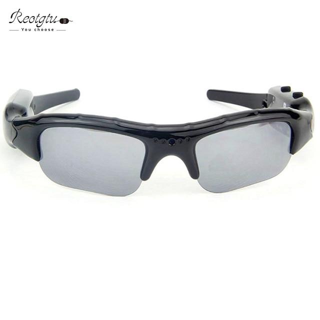 Free shipping DV104 smart HD Glasses Camera Sunglasses mini Eyewear DVR Video Recorder  PC Camera Audio