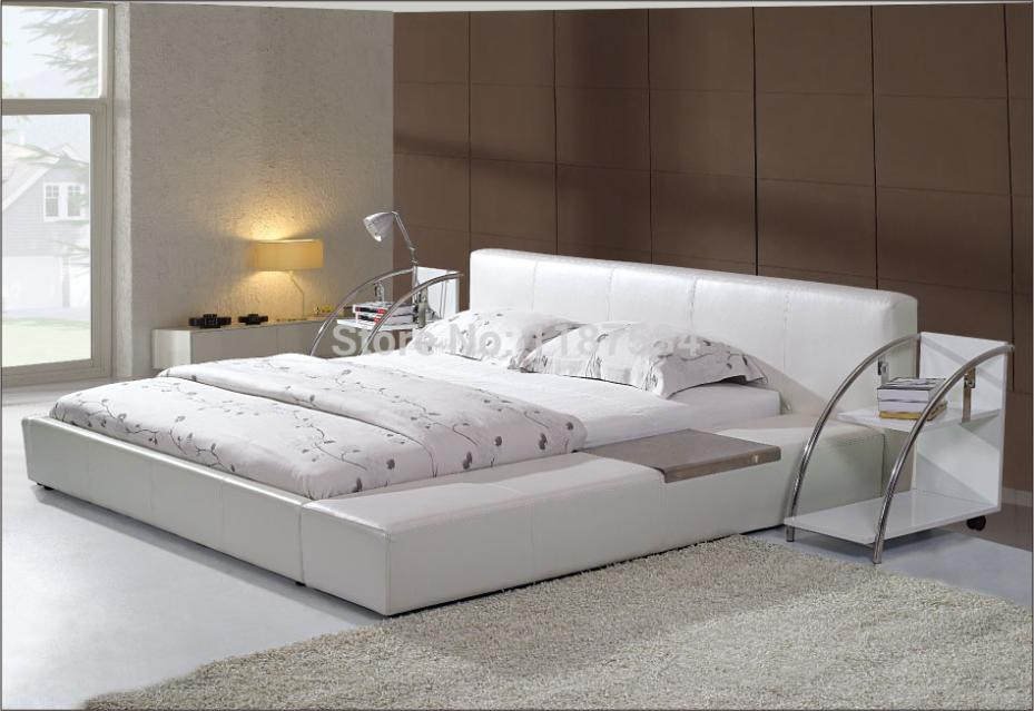 Large king size soft bed PU+PVC leather soft bed C380 smoby детская горка king size цвет красный