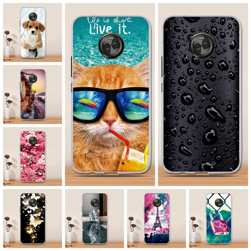Case For Motorola Moto <font><b>X4</b></font> Case Silicone Back Cover for Motorola Moto X 2017 Cover Coque Fundas for Moto <font><b>X4</b></font> <font><b>XT1900</b></font> Phone Case image