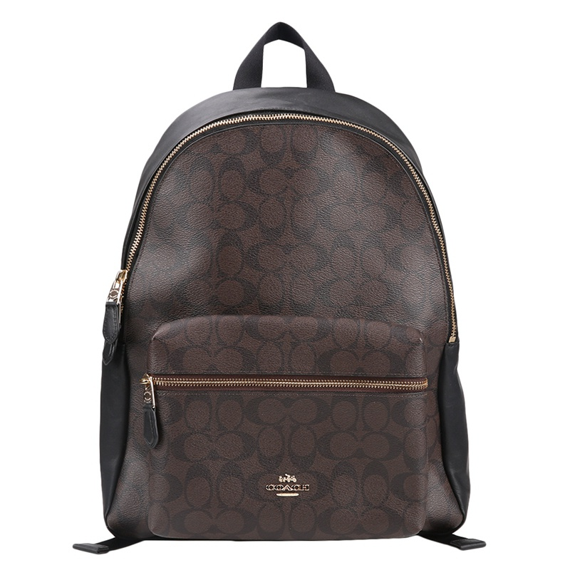 Coach Charlie PVC Backpack Double Shoulder Bag F58314-in Backpacks from  Luggage & Bags on Aliexpress.com | Alibaba Group