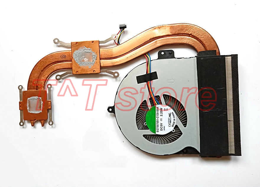 купить original N552 N552VX N552VW CPU COOLER COOLING fan heatsink test good free shipping онлайн
