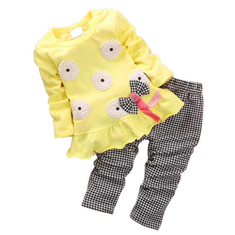 Toddler girls summer clothing set baby girl summer clothes 2018 kids girls clothes set Tops+ Pants Outfits Sets 2pcs 3pcs outfit infantil girls clothes toddler baby girl plaid ruffled tops kids girls denim shorts cute headband summer outfits set