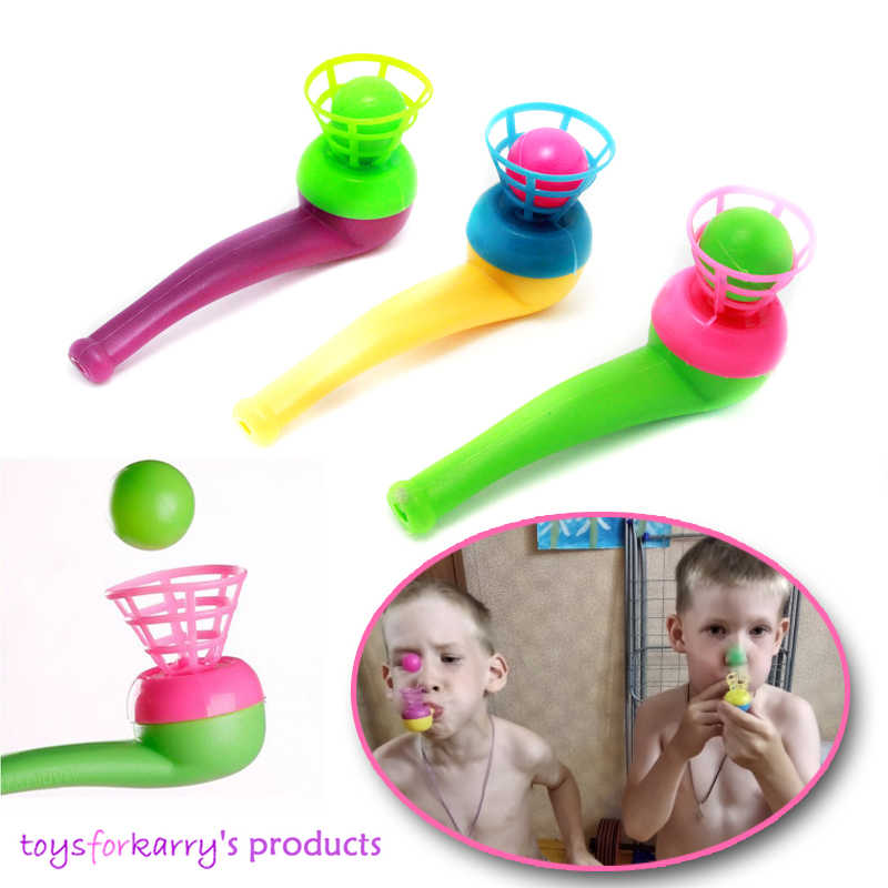 קסם צף לפוצץ צינור כדורי צעצועים לילדים יום הולדת לילדים מסיבת משחק מתנה לפוצץ את כדור החוצה ולתפוס אותו לשפר תגובה