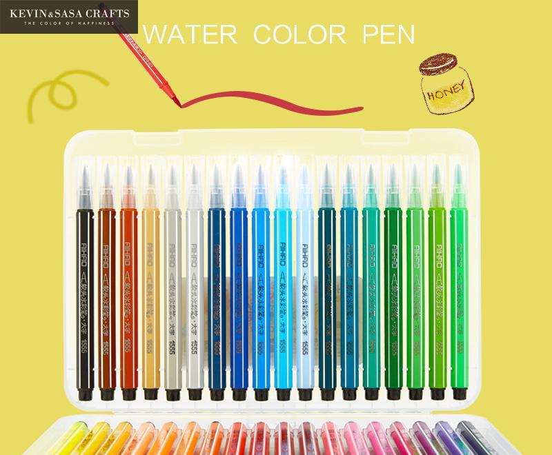 High Quality 12/18/24/36 Painting Soft Brush Pen Set Watercolor Markers Pen Effect Best For Coloring Books Manga Comic Calligrap 20 color brush pen set premium painting soft watercolor art copic markers pen effect best coloring books manga comic calligraphy