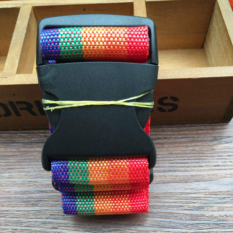 1.8m Colorful Travel Luggage Strap Packing Tape Suitcase Lashing Packaging Rope Travel Accessories