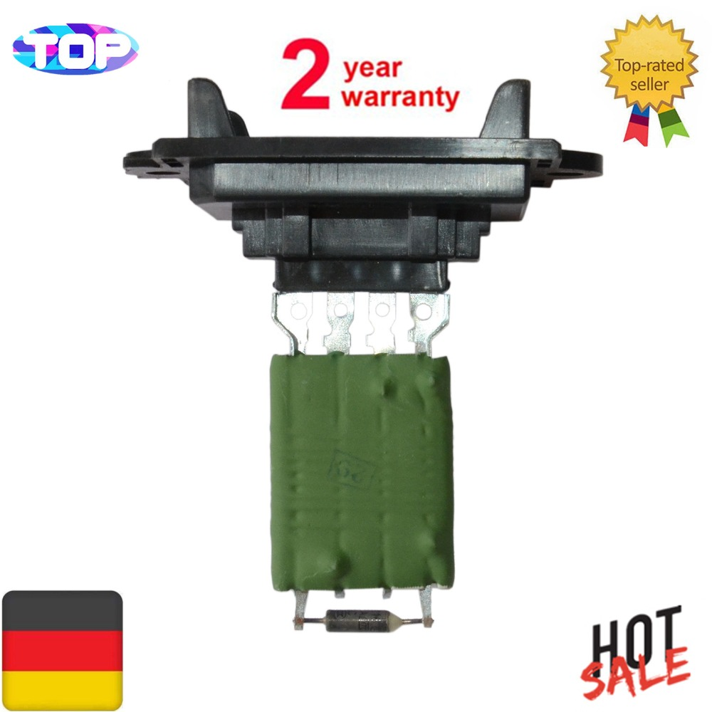 Ac Heater Blower Motor Resistor Fit For Citroen C2 C3 2 Peugeot Control Module 2006 On Ford F150 605 1007 6441q8 X664463f 509510