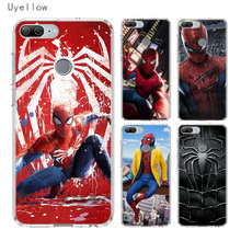 Uyellow Spiderman Marvel Phone Case For Huawei Honor 8A 8X 8C 8S 9 10 20 lite Pro 20i V20 Cover Silicone Soft Coque