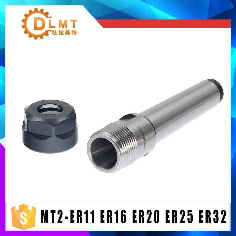 ER20 MT2 M10 Drawbar CNC Milling Steel Material Collet Chuck Holder NEW