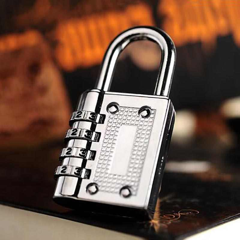 3 Digit Dial Combination Code Number Lock Padlock for Luggage Backpack Suitcase Drawer AI88