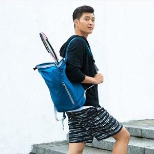Image 3 - Youpin 90FUN Leichte Rucksack Faltbare Tasche Wasserdicht Daypack für Mann & Frau, 20L, Blau/Schwarz H30