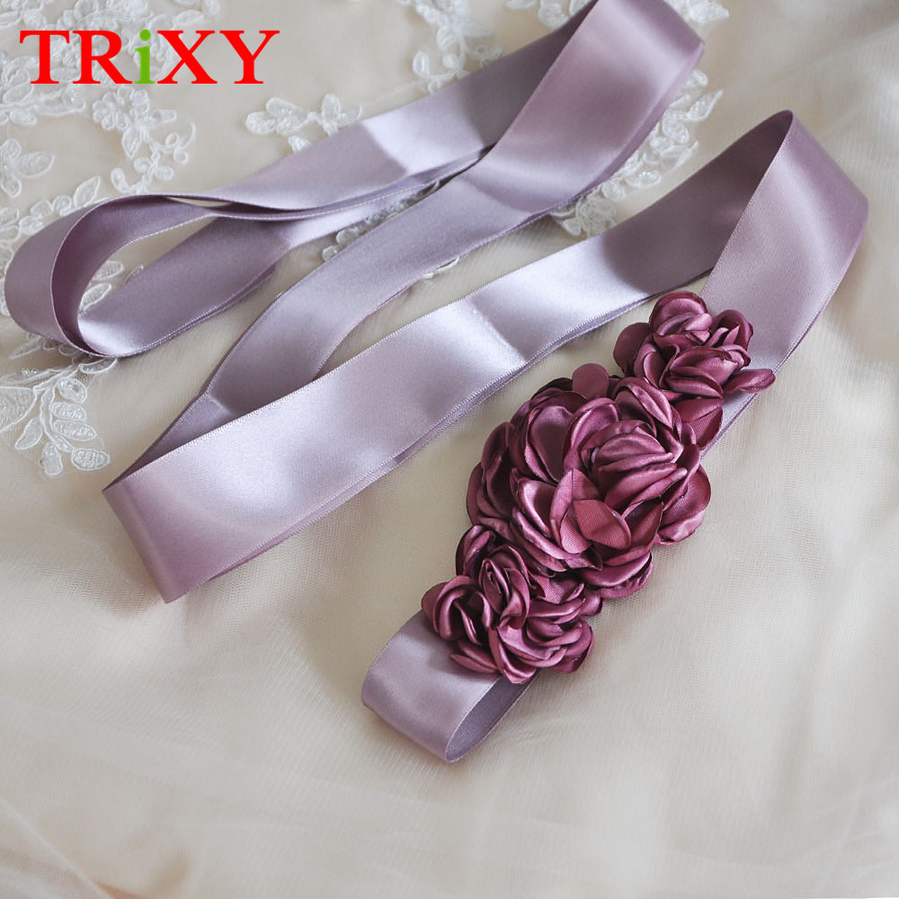 Flower Belts For Wedding Dresses: TRiXY S226 Elegant Flower Evening Party Prom Dresses