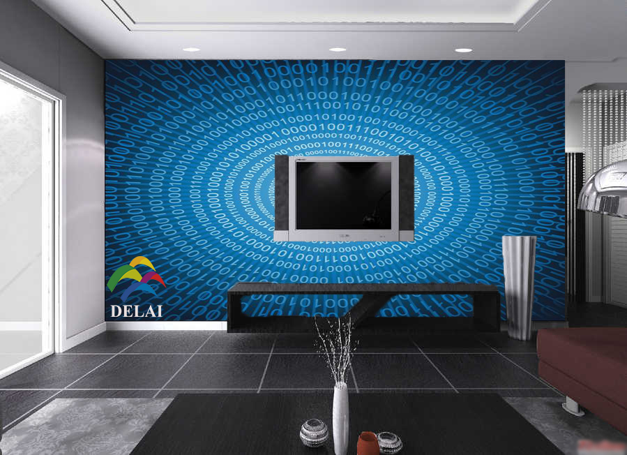 Popular 3d digital wallpaper buy cheap 3d digital for Digital wallpaper mural