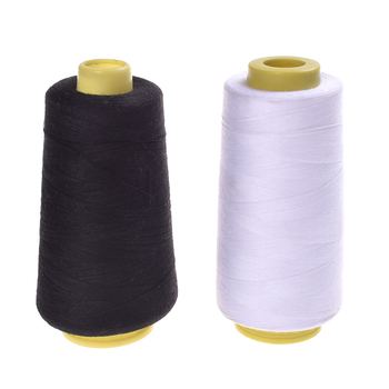 Sewing Threads Durable 3000M Yards Overlocking Sewing Machine Industrial Polyester Thread Metre Cones image
