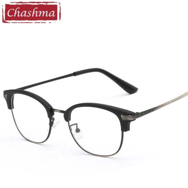 5cbb94e55b320 Chashma Marca Óculos de armação oculos de grau feminino transparente  Tendência Das Mulheres e Dos Homens