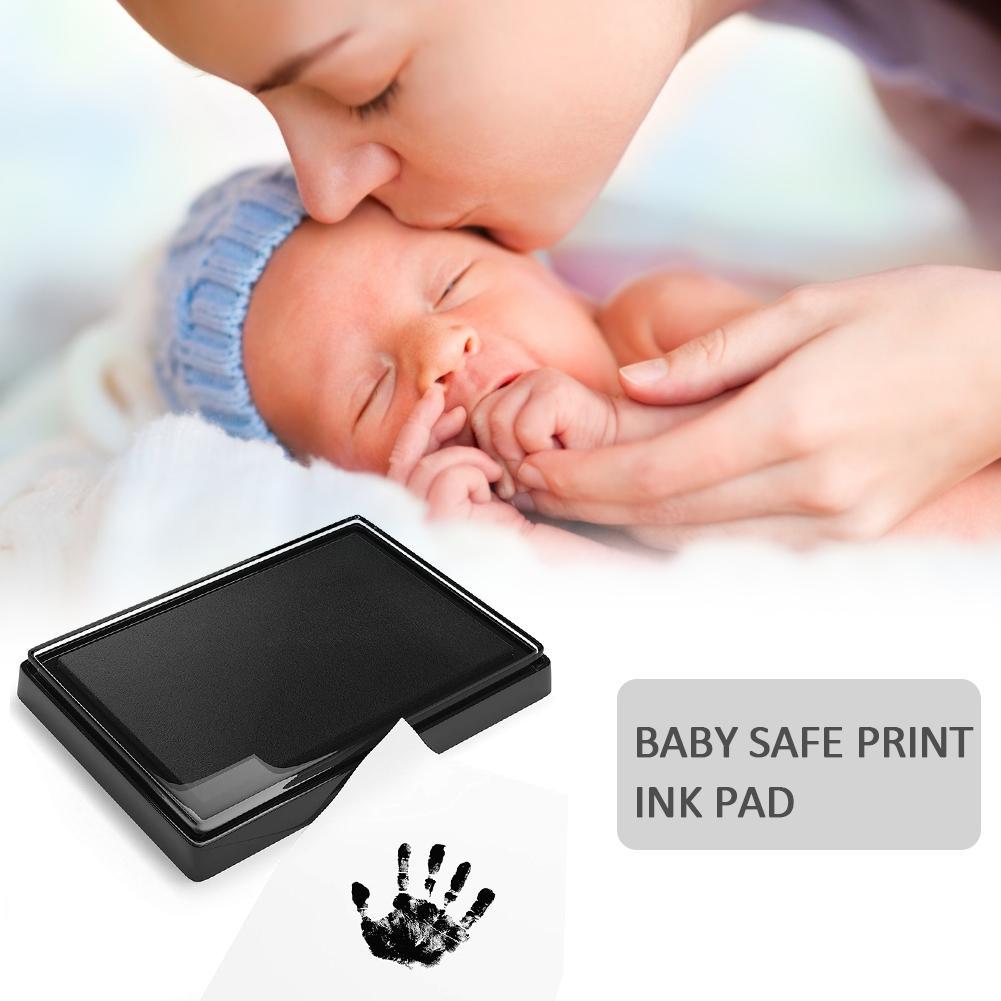 Newborn Baby Handprint Footprint Oil Pad Painting Ink Pad Photo Hand Foot Print Pad Wonderful Keepsake Smart Inkless Touch