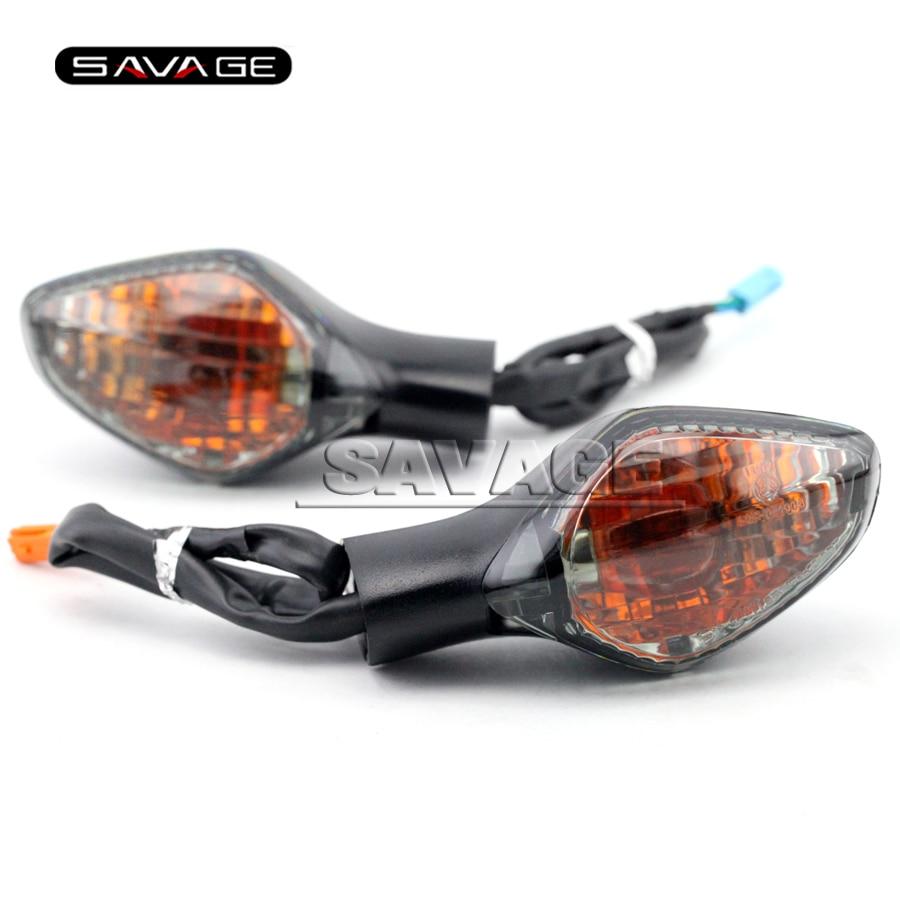 Pour HONDA NC700/NC750 X/S NC700D NC700X NC700S Fumée Accessoires de Moto Avant clignotants Voyant Lampe 3 fils