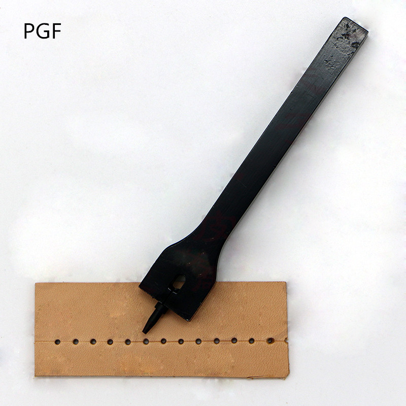 PGF لوحات الجلود عن طريق الأدوات اليدوية 1 حفرة الجولة ختم