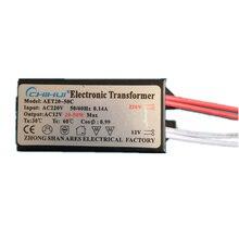 1 PC Hohe qualität Ausreichend Power Elektronische Transformator Für Halogen Lampe AC 220V AC 12V power 20W -50W 3 jahre garantie!