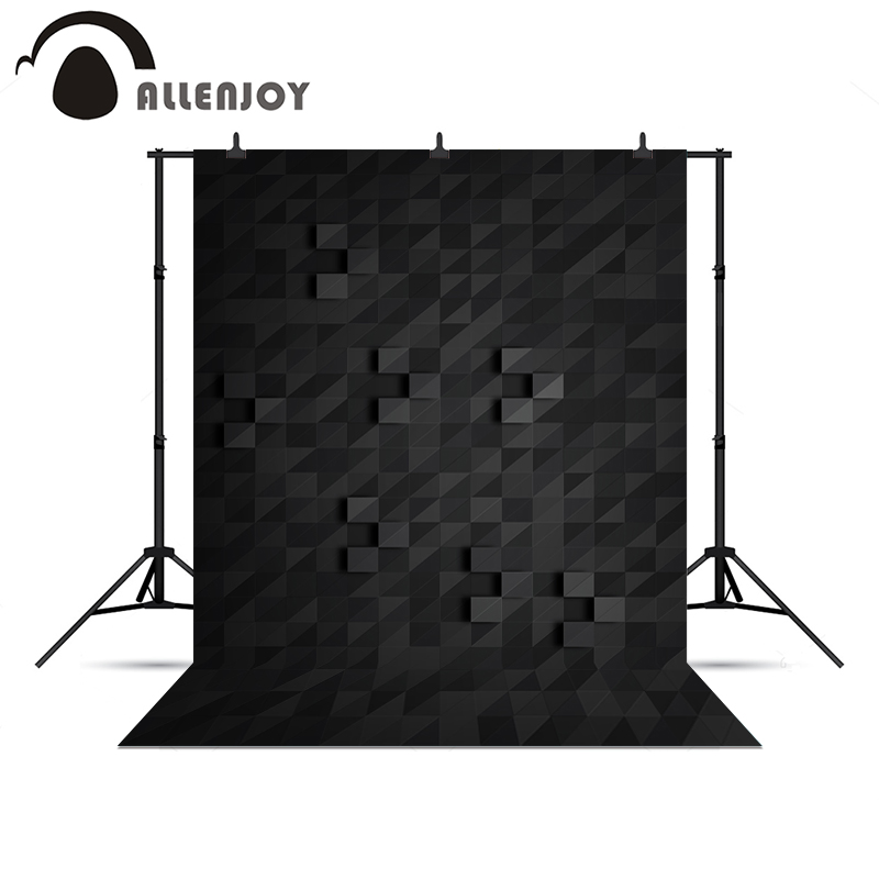 Allenjoy Photo background Black artisticistic Modern 3D Professional Christmas presents vinyl photo backdrop