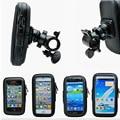 2pcs Universal Bike Bicycle Handle Phone Mount Cradle Holder Cell Phone Motorcycle Handlebar Waterproof bag Case For CellPhone