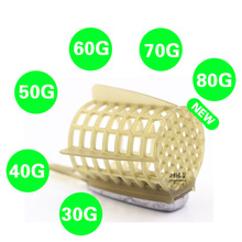 3 x Fishing Feeder Tool Accessories Bait Cage  30G,40G,50G,60G Fishing Tackle Feeder