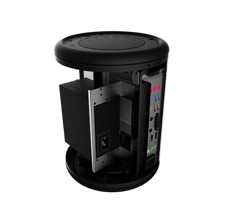 2015 New Computer Trash Enclosure Round A Small Chassis With 230w