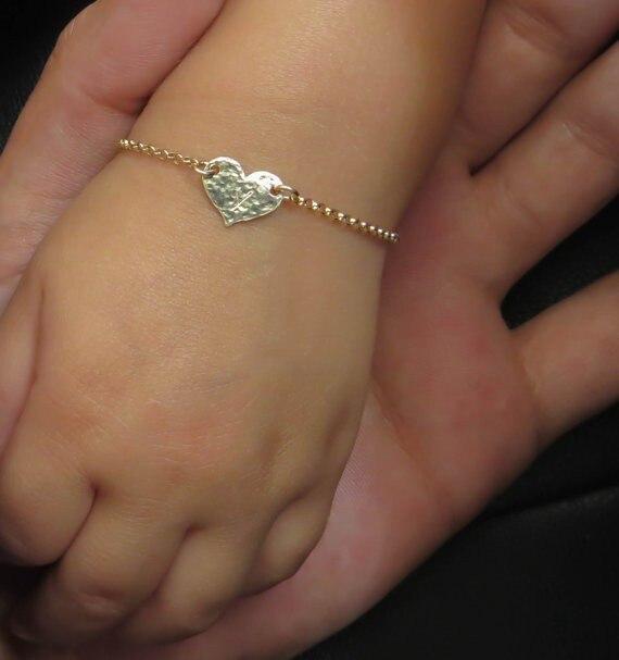 Remplir bébé Bracelet 5 pièces, bébé grande taille Bracele pas se faner, personnalisation manuelle laser gravure baptême cadeau en gros - 3