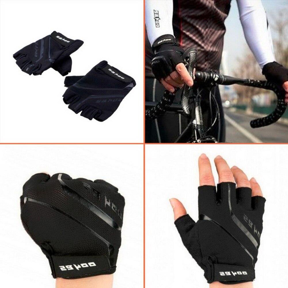 SAHOO GEL Pad Half Finger Cycling font b Gloves b font Summer Racing Luvas Para Ciclismo