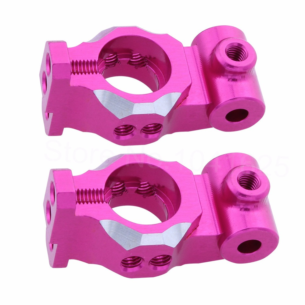 Aluminum Rear Hub Carrier (L/R) For 3Racing Sakura D4 1:10 Drift Upgrade Parts SAK-D4818