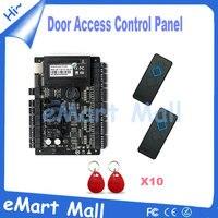 Доступ cobtrol комплект Сети Tcp/Ip С3 200 Интеллектуальные Две Двери Rfid Доступ К Панели Управления с 2 ШТ. RFID считыватель