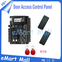 Access cobtrol kit Tcp/ip Network C3 200 Intelligent Two Door Rfid Access Control Panel with 2PCS RFID reader