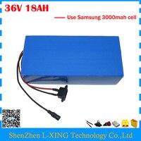 Free Customs Fee 36V 18AH Li Ion Battery Pack 36V 18AH Electric Bike Battery Use Samsung