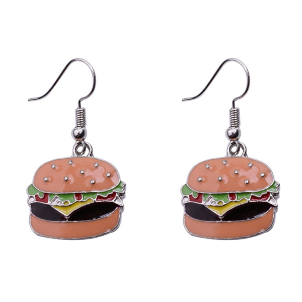 New Fashion Creative Drink Foods Earrings Cola