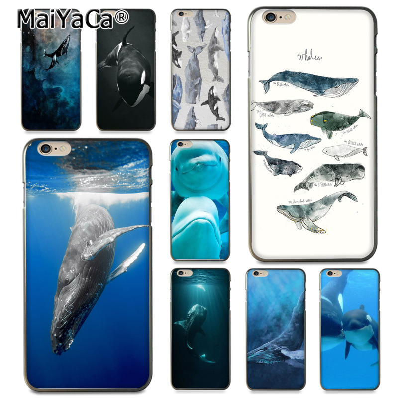 US $1 51 24% OFF|MaiYaCa Killer Whales Print Ocean animals High Quality  Classic Phone Case for Apple iPhone 8 7 6 6S Plus X 5 5S XS XR XSMAX-in