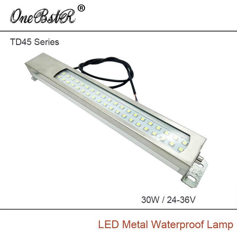HNTD 30W 24V-36V Led Metal Panel Light TD45 CNC Machine Tool Waterproof Explosion-proof Led Astigmatism Led Work Lamp IP67