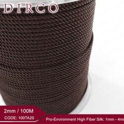 2,0 мм Миланский шелковый шнур 100 м/украшения в стиле рок-н-ролл аксессуары для одежды браслет ожерелье Изготовление Бисероплетение плетение ...
