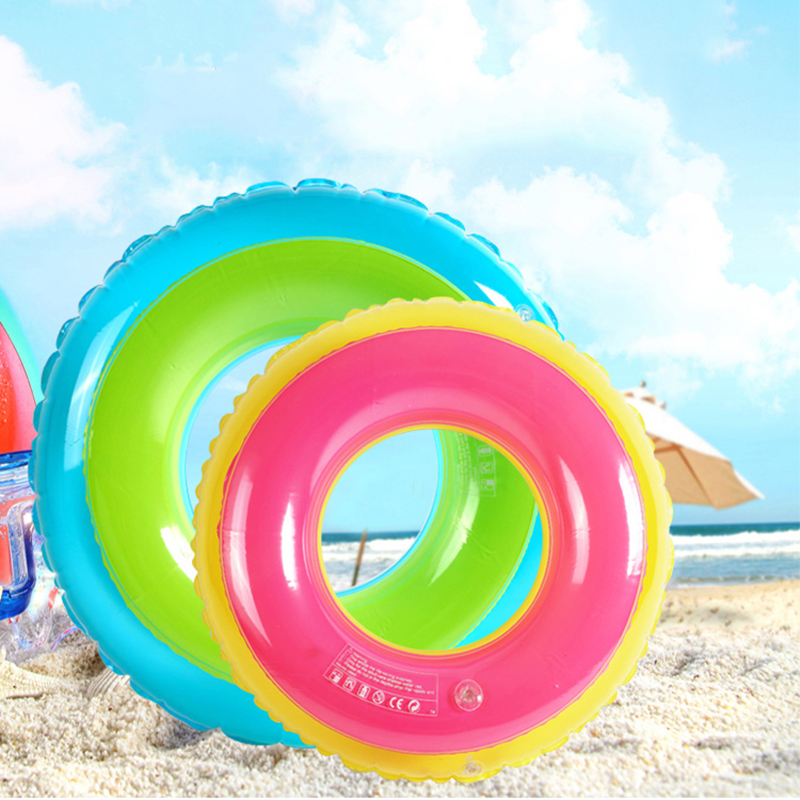 Summer Swimming Ring Floats inflatable Swim Water Sports Circle Inflatable pool Float For Adult