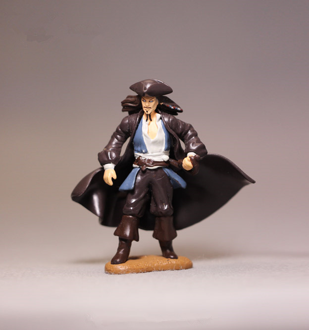 Garage Kid Action Figure PVC 8cm Doll Pirates of the Caribbean Captain Jack Sparrow Model Toy Collection Gift for Kids Baby Toy