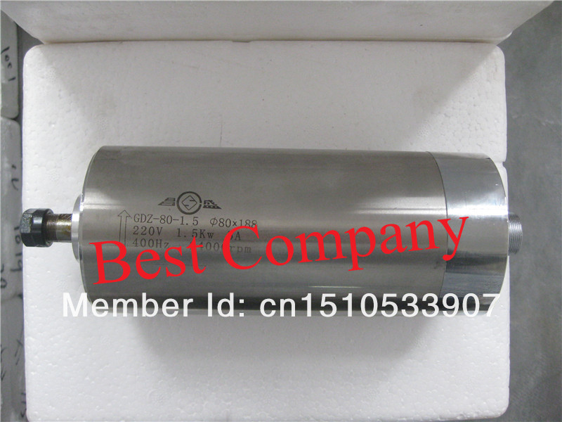 4pcs P4 7002 bearings cnc spindle spindle 1 5kw 1 5kw spindle motor for cnc spindle