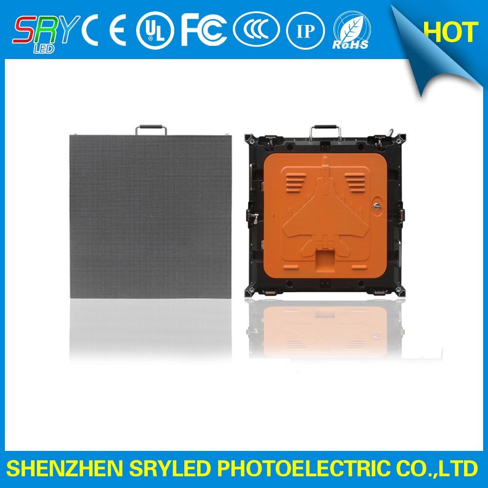 SRY P5 64X64 die casting aluminum cabinet rental LED display
