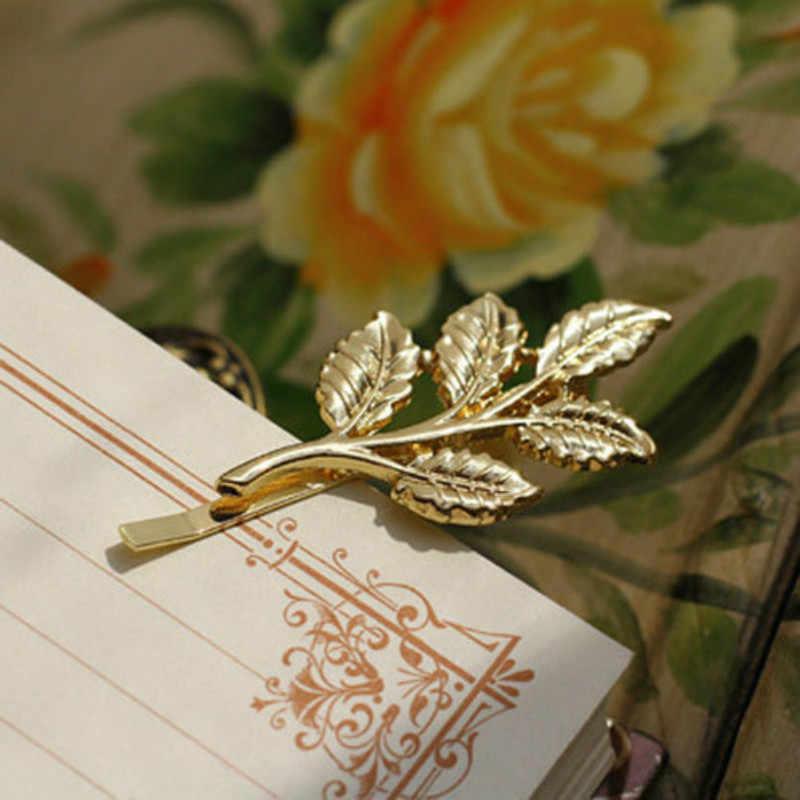 1 P простой сексуальный стиль Baitie жемчужная Дамская Золотая заколка для волос заколка для невесты заколка для прически аксессуары инструмент для укладки