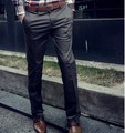 Free shipping new 2017 spring mens work pants western-style trousers straight men's business casual thin suit pants /XK1
