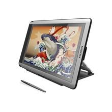 HUION KAMVAS 16 15.6 inç kalem Tablet monitör dijital grafik çizim monitörü kalem ekran monitör