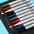 Ручка для рисования, маркер для рисования на шинах, золотой, металлический, пластиковый, стеклянный, керамический, долговечный, не носится